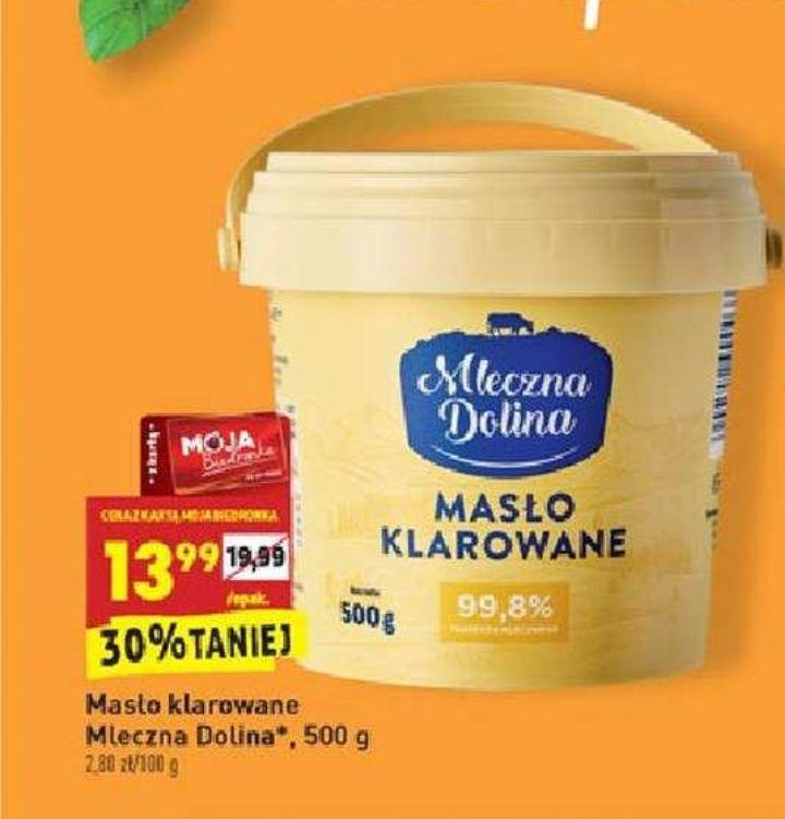 Masło klarowane Mleczna Dolina 0,5 kg od 03.08.2020 z kartą Moja Biedronka