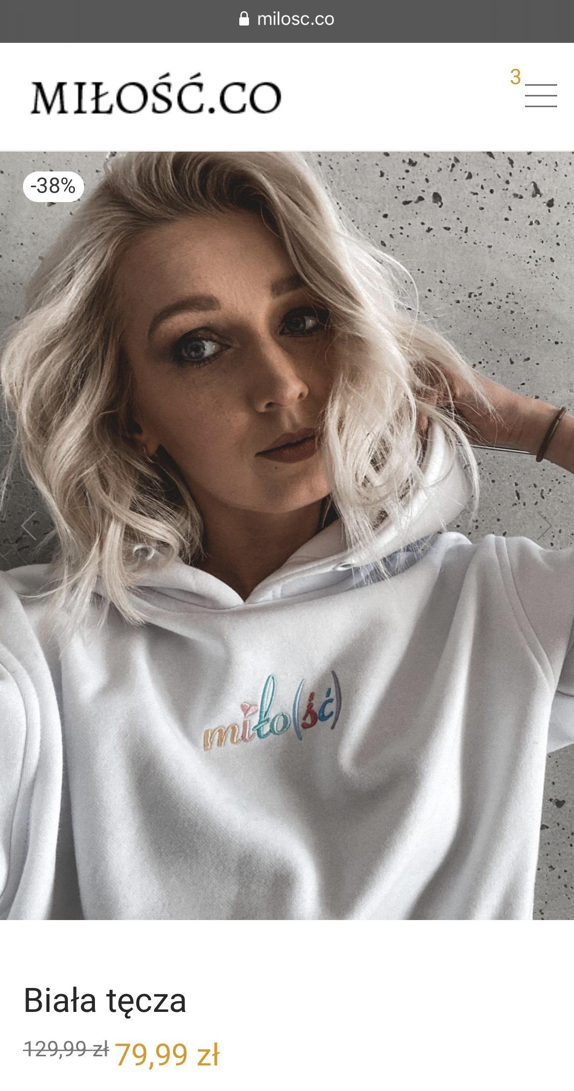 Bluzy Miło(ść) + t-shirt gratis