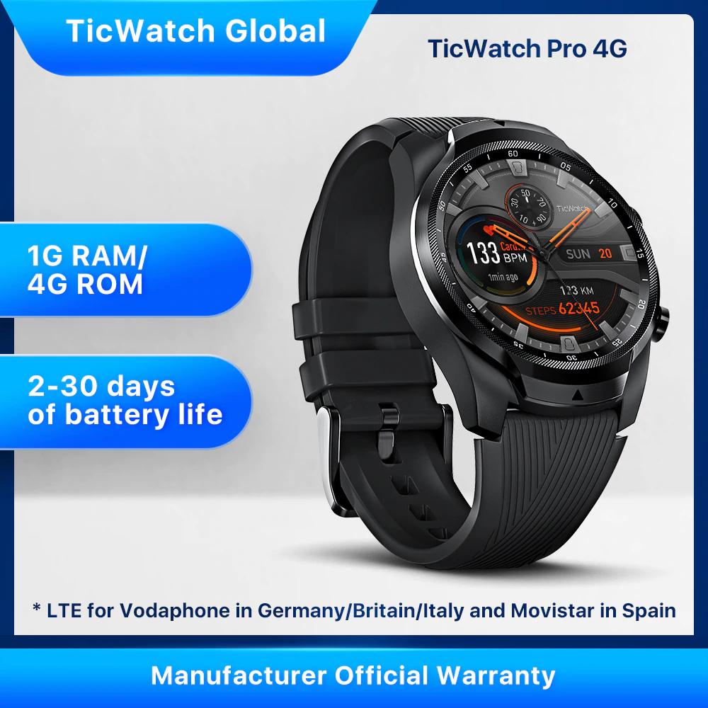 Ticwatch Pro 4G LTE wersja na EU