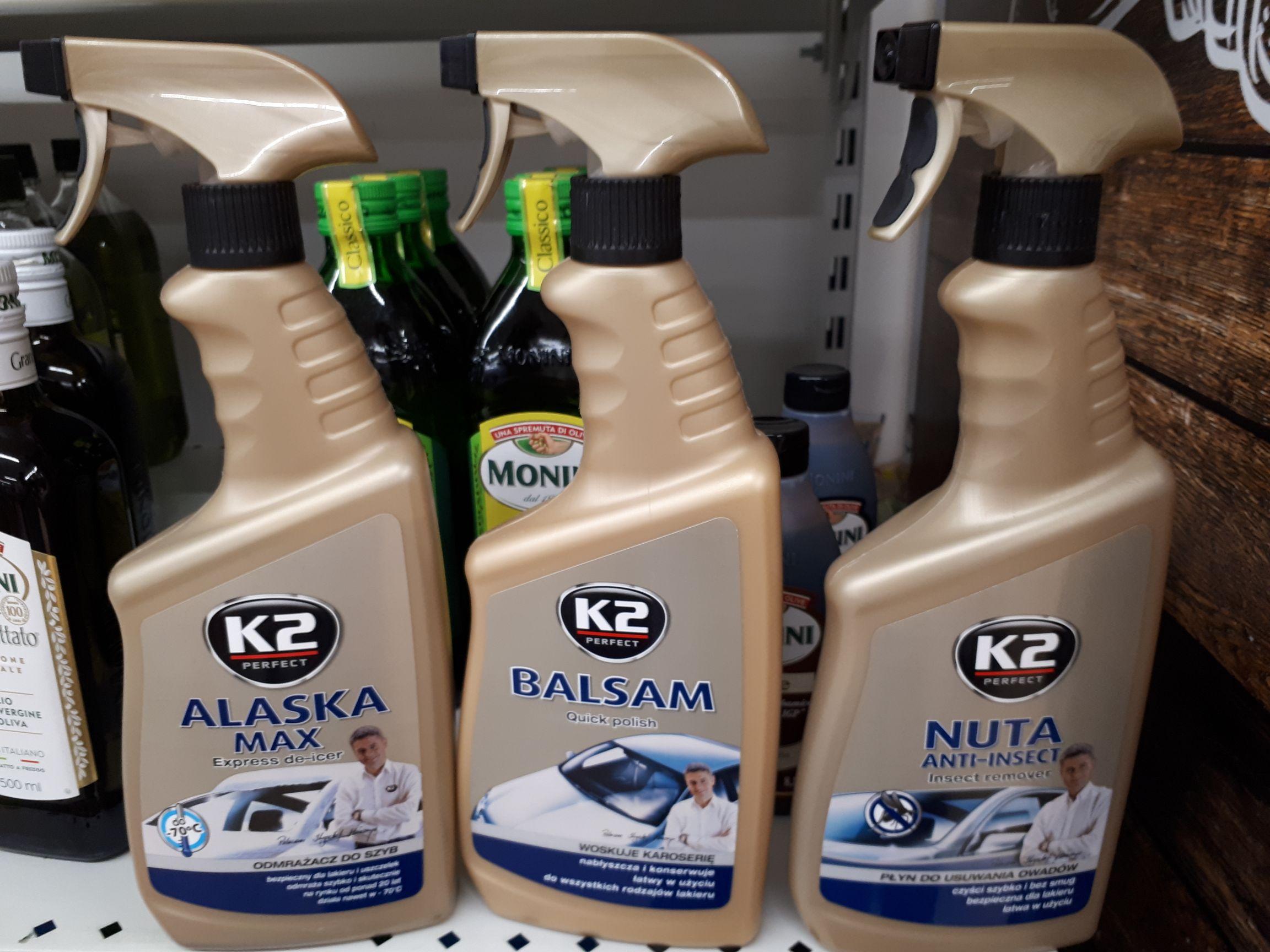 Wyprzedaż produktów K2, Biedronka