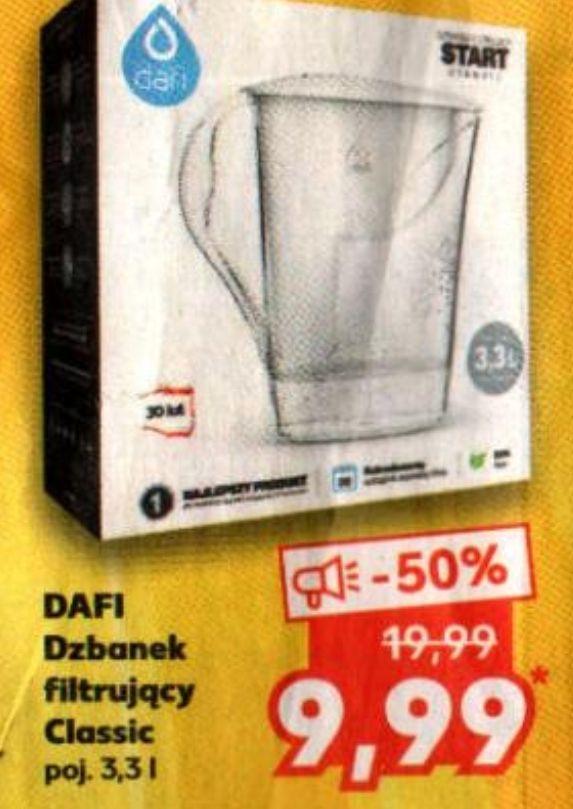 DAFI Dzbanek filtrujący classic 3.3L + wkłady od 7.99 zł - Kaufland