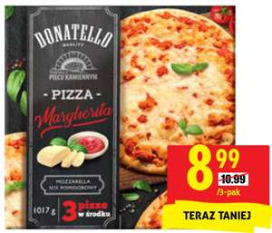 Pizza Margherita Donatello 3 szt.