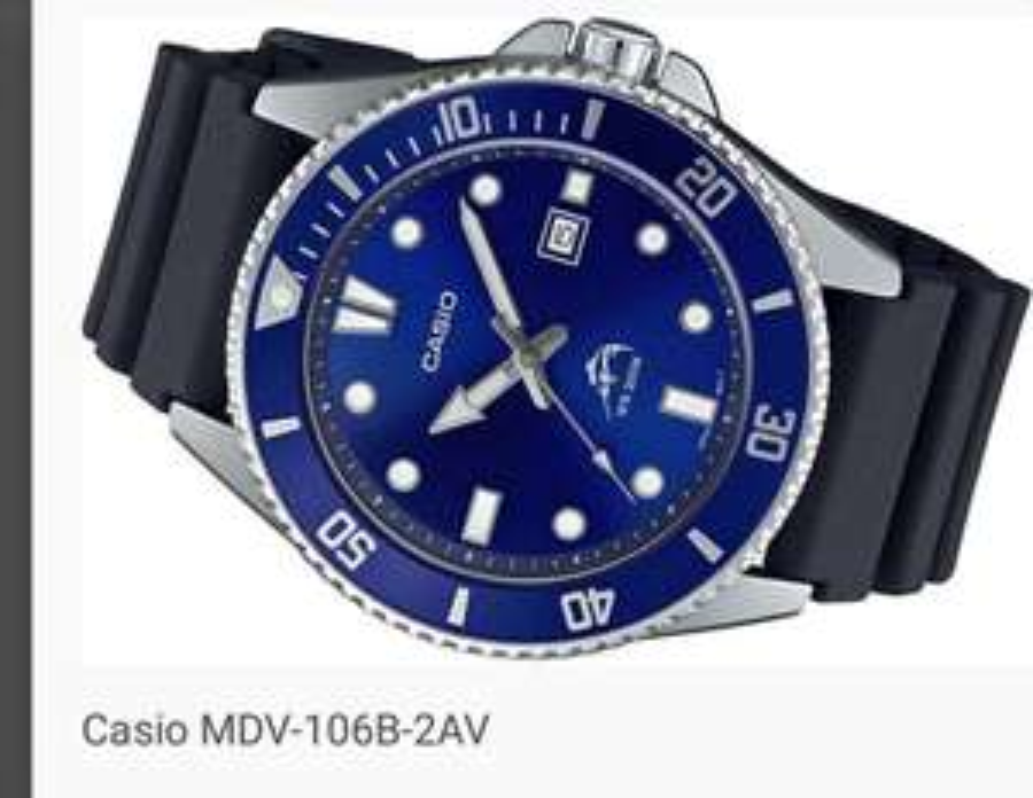 Casio Duro MDV-106B-2AV Limitowana wersja