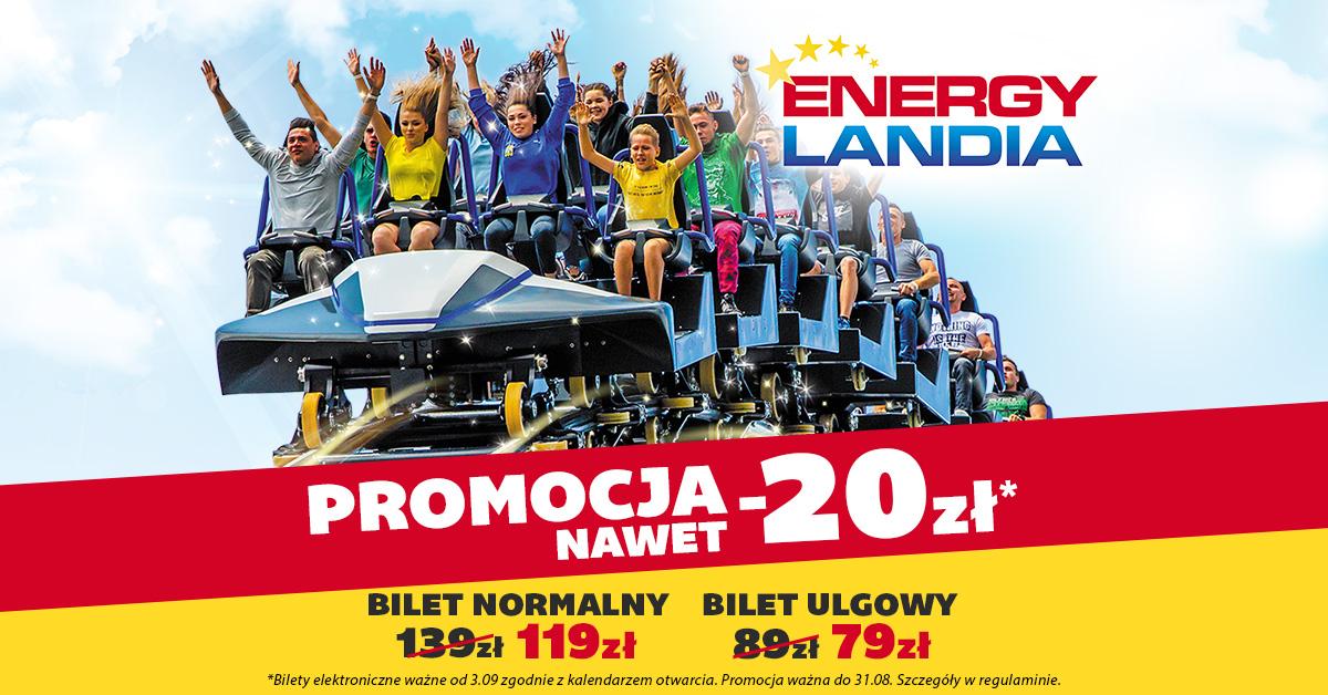 Energylandia - promocyjne bilety
