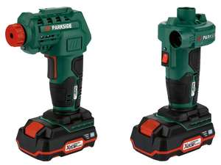 PARKSIDE® Akumulatorowy kompresor i akumulatorowa pompa powietrza, PALP 20-Li B2