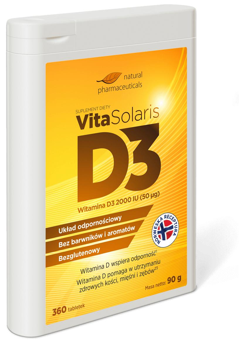 360 tabletek witaminy D3 za darmo