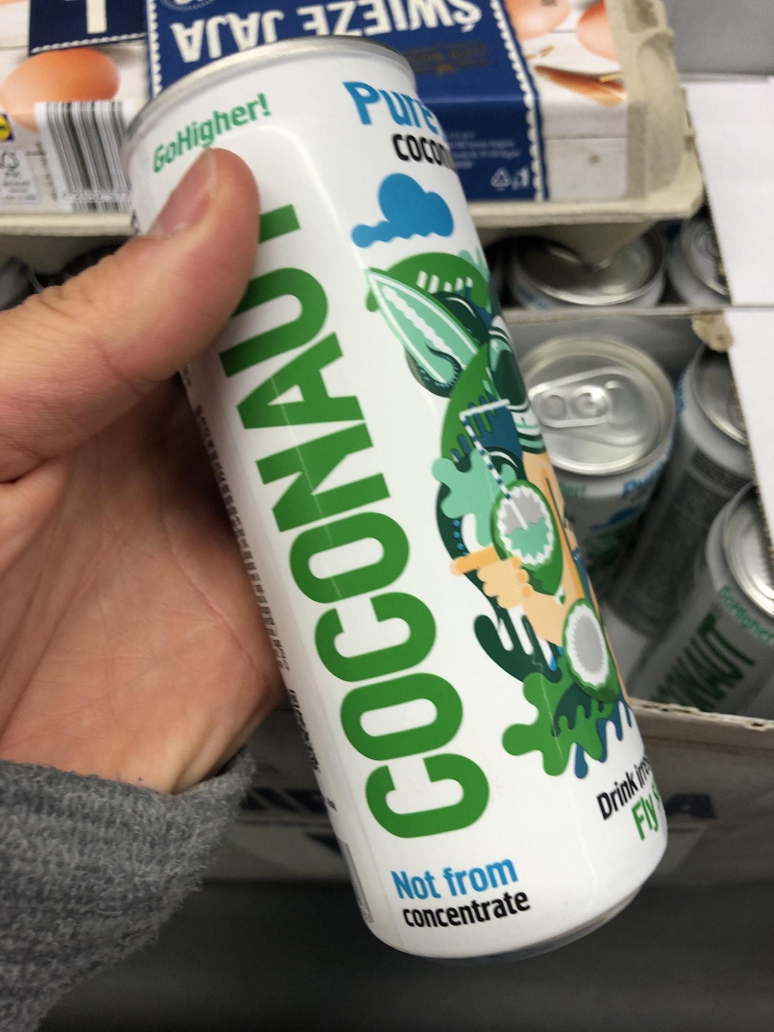 Woda kokosowa coconaut LIDL
