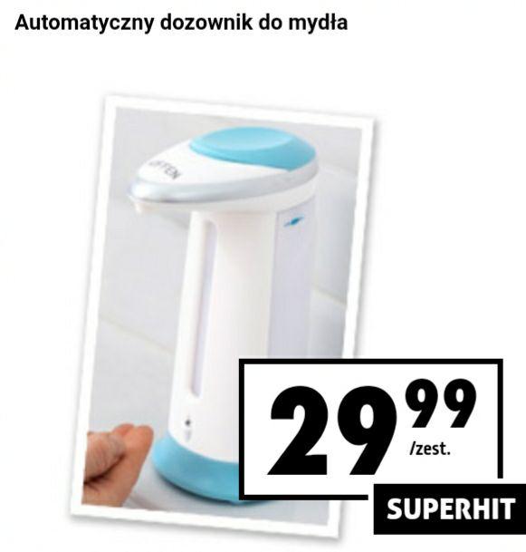 Biedronka - automatyczny dozownik do mydła Hoffen