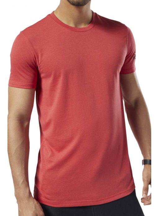 Koszulka męska REEBOK. Aktualnie dostępna w r. S, XL. Spory wybór innych t-shirtów Reebok od 34,99 zł do 39,99 zł (różne rozmiary)