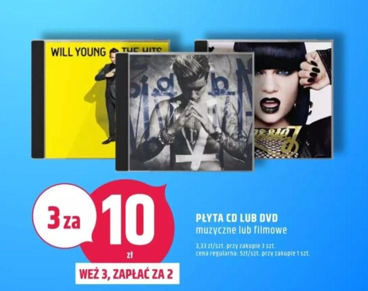3 płyty CD/DVD w cenie 2.