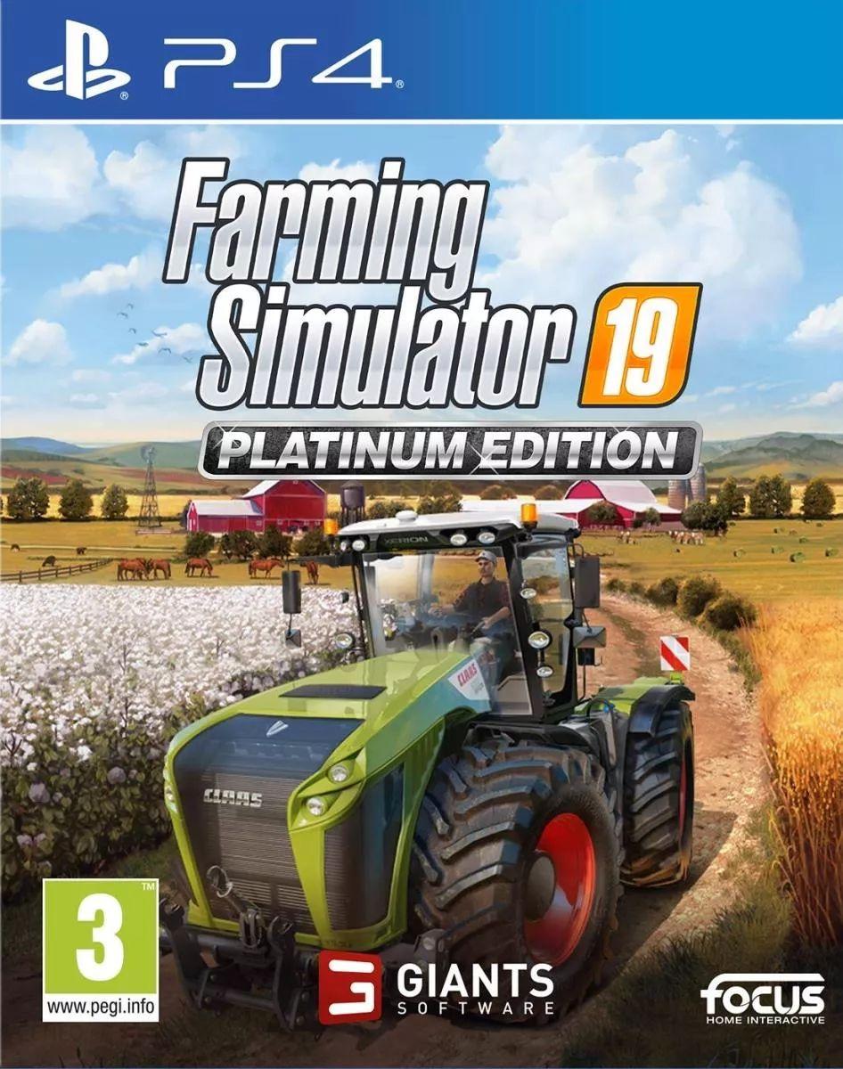 Farming Simulator 19 Platinum PS4