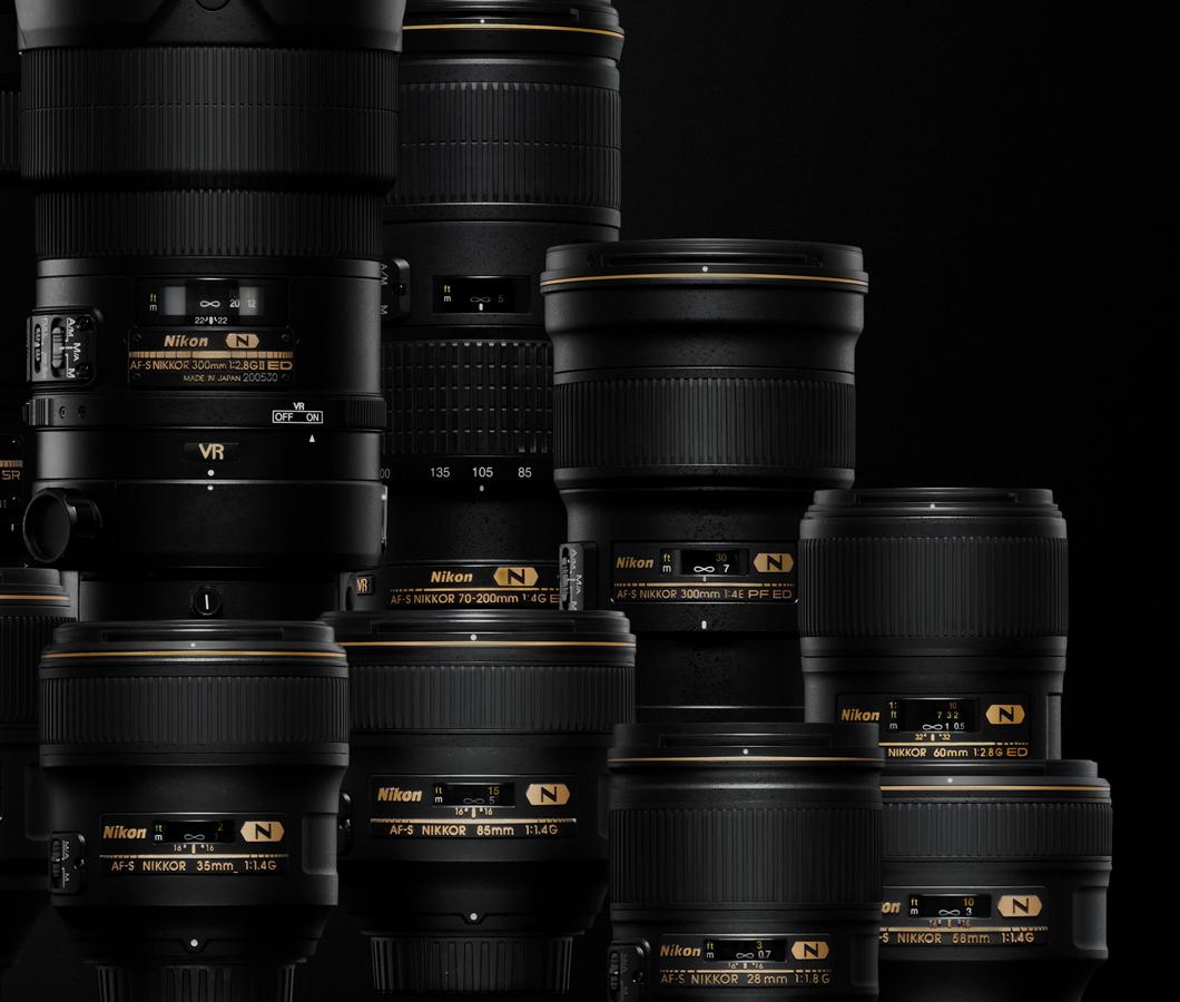 Natychmiastowy rabat 10% na wszystkie obiektywy Nikon Nikkor z mocowaniem F