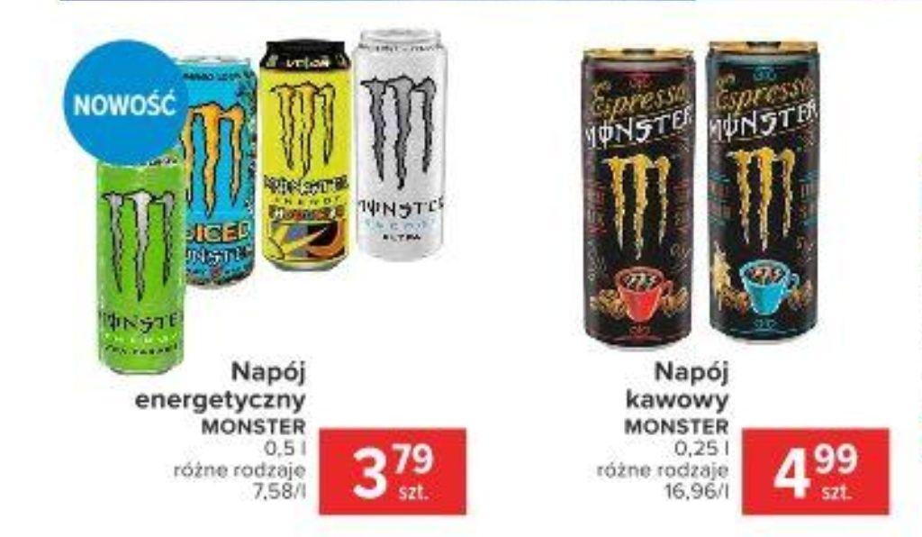 Monster Energy Ultra Paradise i inne za 3.79zł - Carrefour