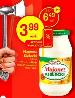 Majonez Kielecki 500ml @Delikatesy Centrum @Mila