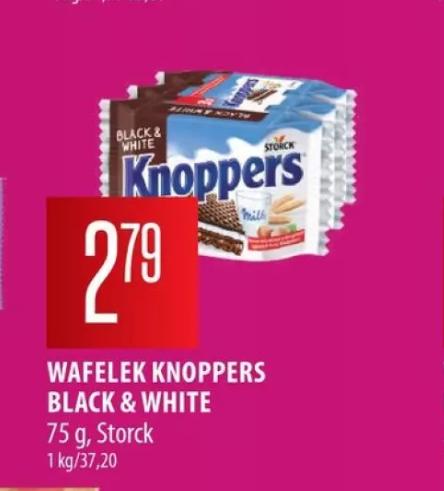 Wafelki Knoppers Black&White 3x25g
