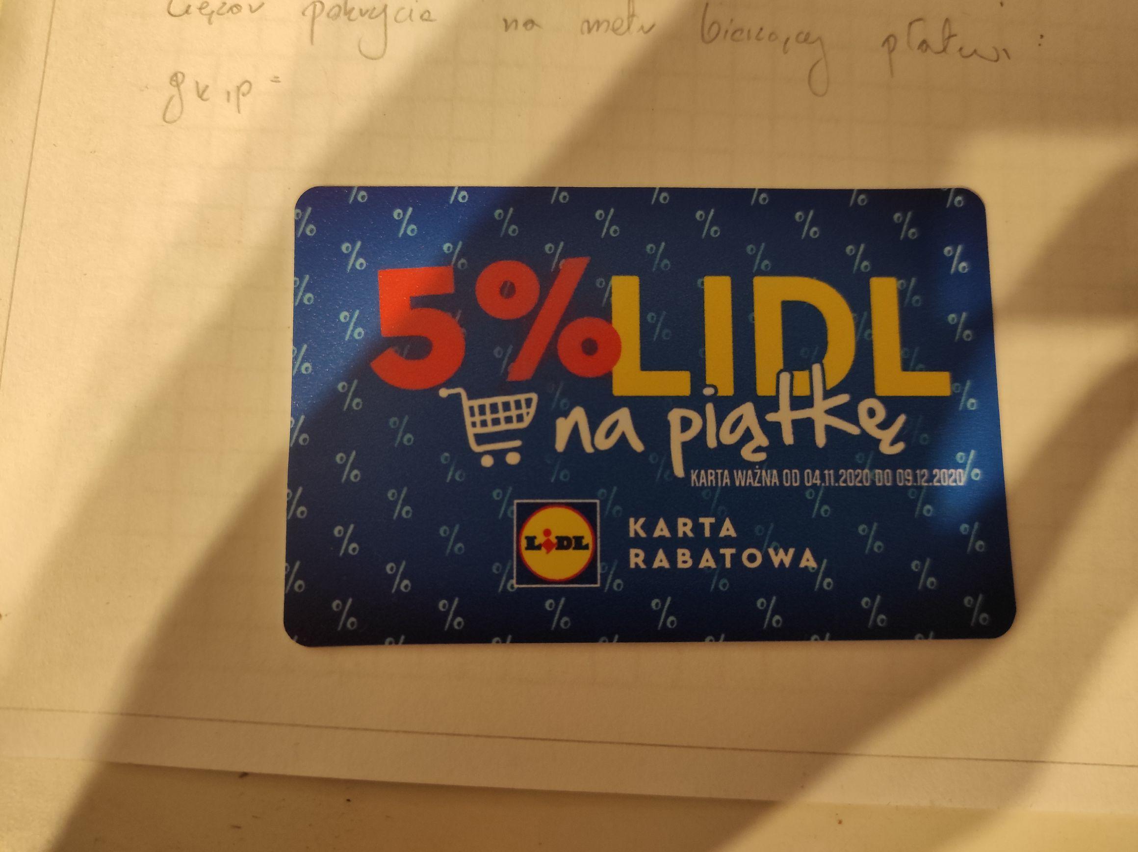 -5% LIDL NA WSZYSTKO (Ruda Śląska)