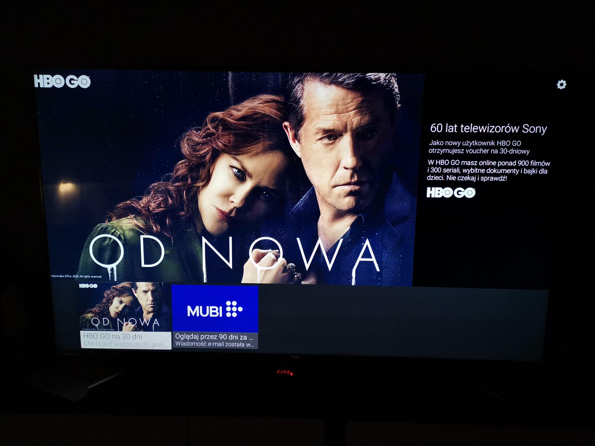 HBO go za darmo na miesiąc od Sony