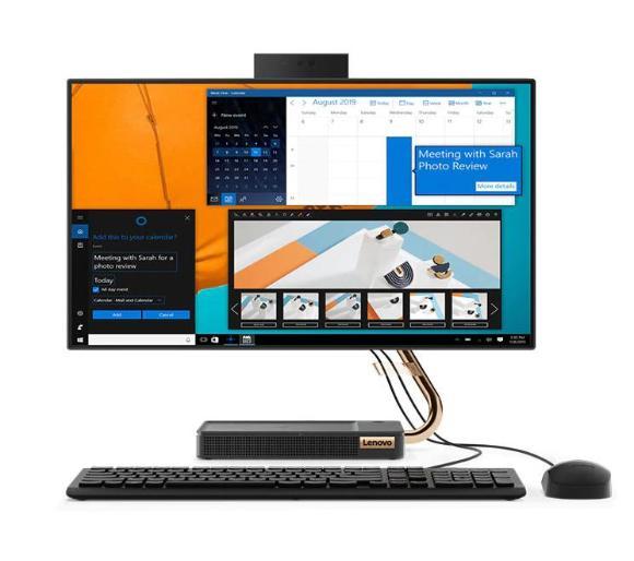 Komputer All-In-One Lenovo Ideacentre A540-24API (Ryzen 3 3200GE, 8GB Ram, 512 GB SSD) @Euro