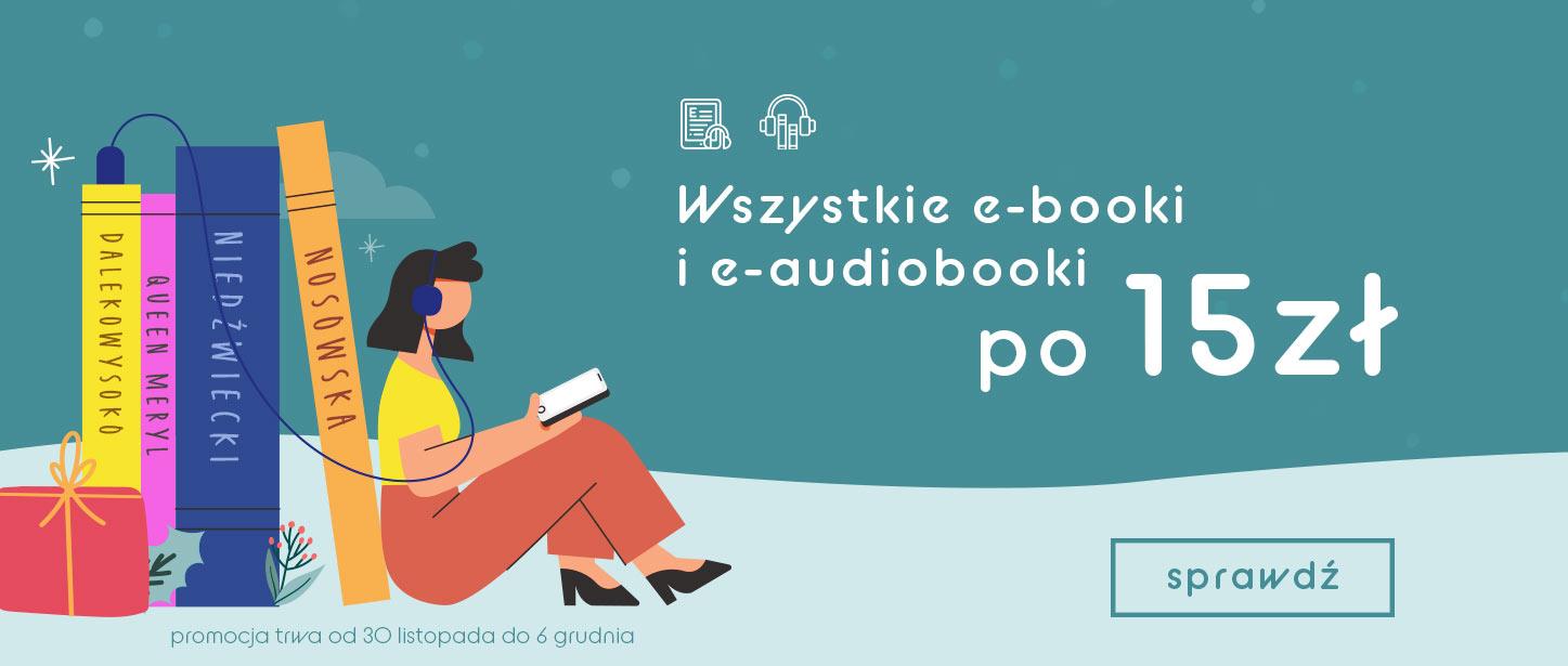 Wszystkie e-booki i e-audiobooki po 15zł @ Wielka Litera
