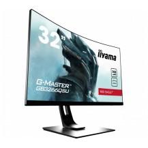 """Monitor iiyama G-Master GB3266QSU-B1 32"""", 144Hz, 1ms, VA, WQHD, zakrzywiony ekran, FlickerFree"""