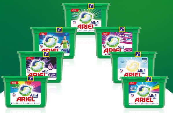 Wypróbuj Ariel Allin1 PODS - zwrot cashback przy braku satysfakcji