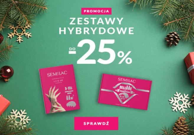 Zestawy hybrydowe do -25% taniej na Semilac