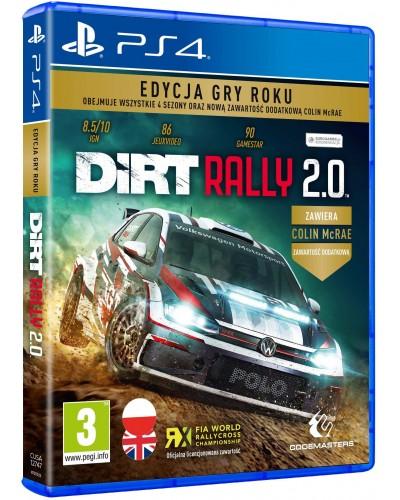Gra DiRT Rally 2.0 Edycja Gry Roku na PS4