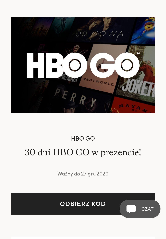 HBO GO 30 dni za darmo dla klubowiczów premium w H&M