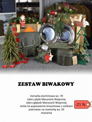 Świąteczny ZESTAW BIWAKOWY od AMW