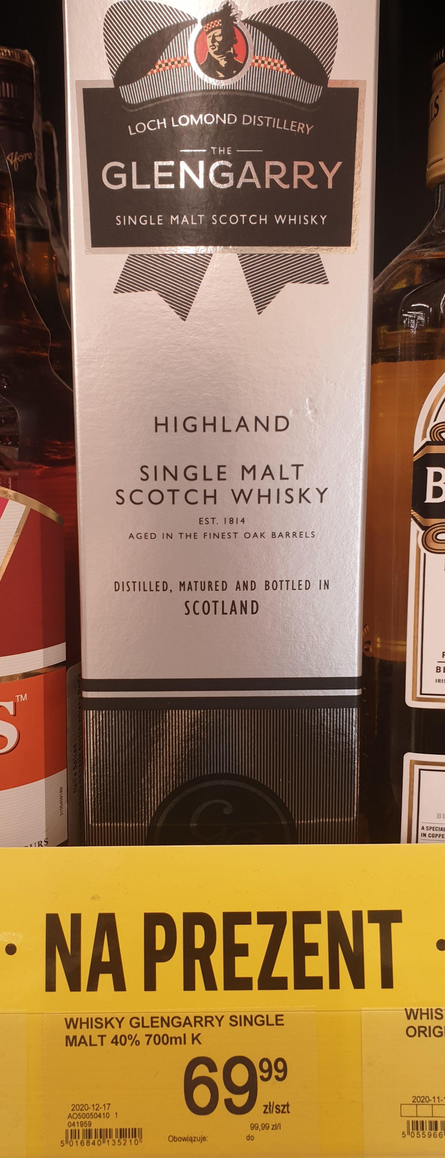 Whisky GLENGARRY