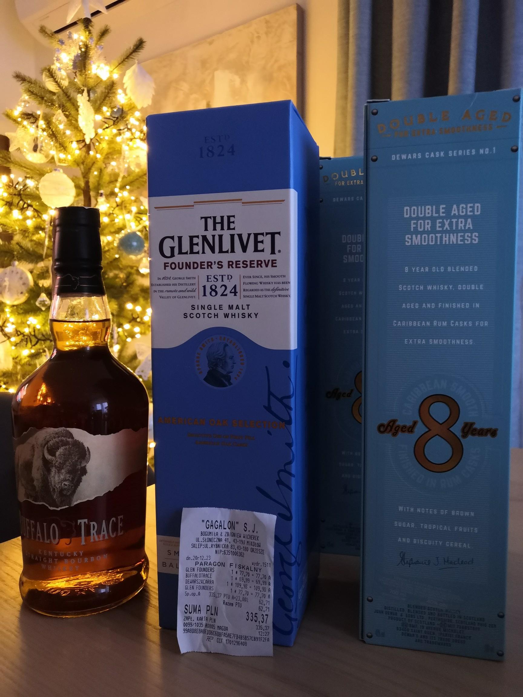 Whisky Glenlivet Founders Reserve single malt