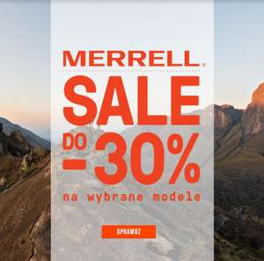 Promocja na buty Marrell -30%