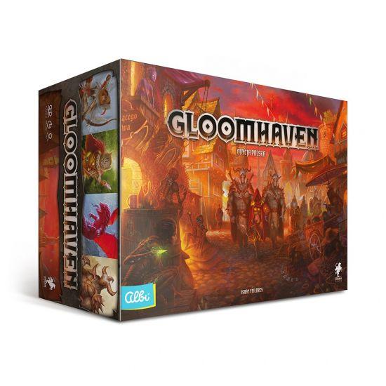 Kupon 5% w sklepie Albi, dobra oferta na Gloomhaven 495.90zł