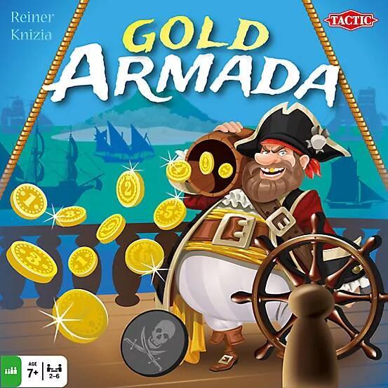 Gra planszowa - Gold Armada (BGG 6.0) @Dedalus / Gra przygodowa, rodzinna