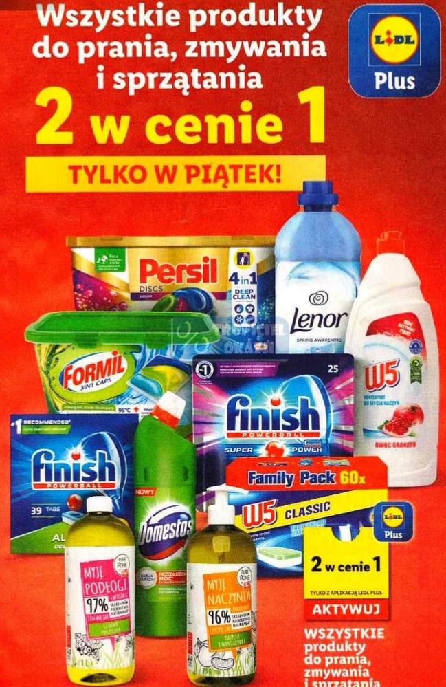Wszystkie produkty do prania, zmywania i sprzątania 2 W CENIE 1. Lidl