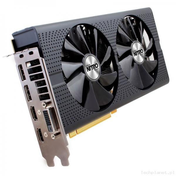 Sapphire ATI Radeon RX480 NITRO OC 4GB DDR5/256bit DVI/HDMI/DP