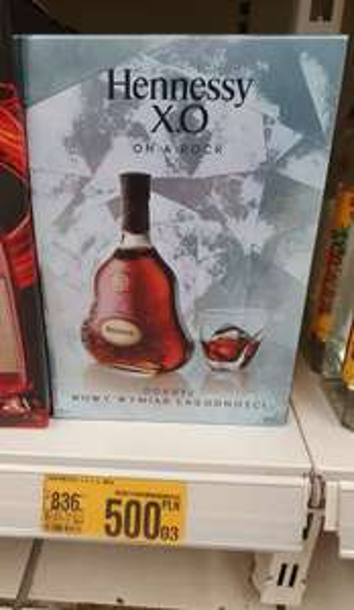 Cognac Hennessy x.o. 0.7L - Auchan Sosnowiec