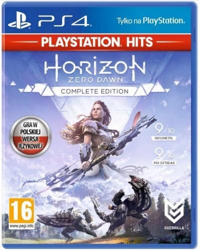 HORIZON ZERO DAWN COMPLETE EDITION PLAYSTATION HITS PS4 PL + NAKŁADKI NA ANALOGI