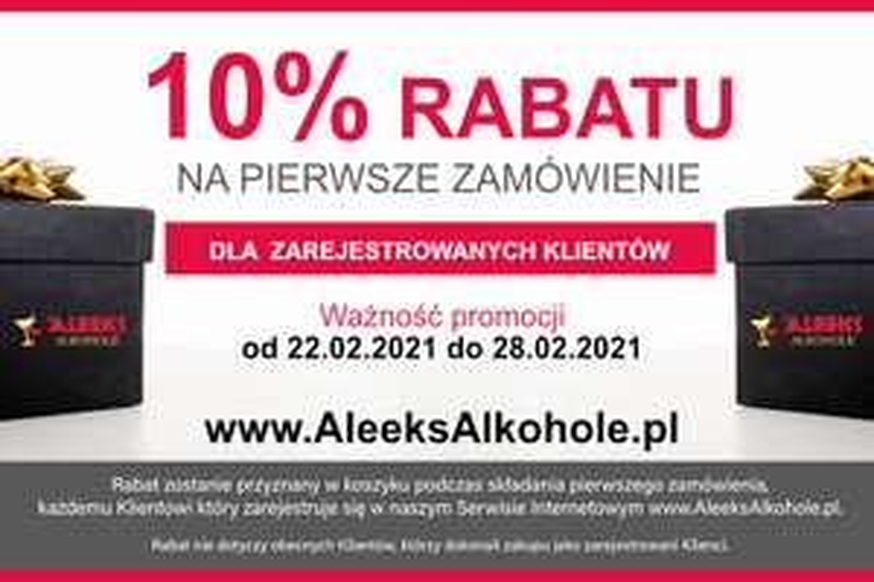 Whisky, Whiskey, Bourbon, Rum, Tequila i wszystkie inne trunki z 10 %rabatem w sklepie AleeksAlkohole !!!