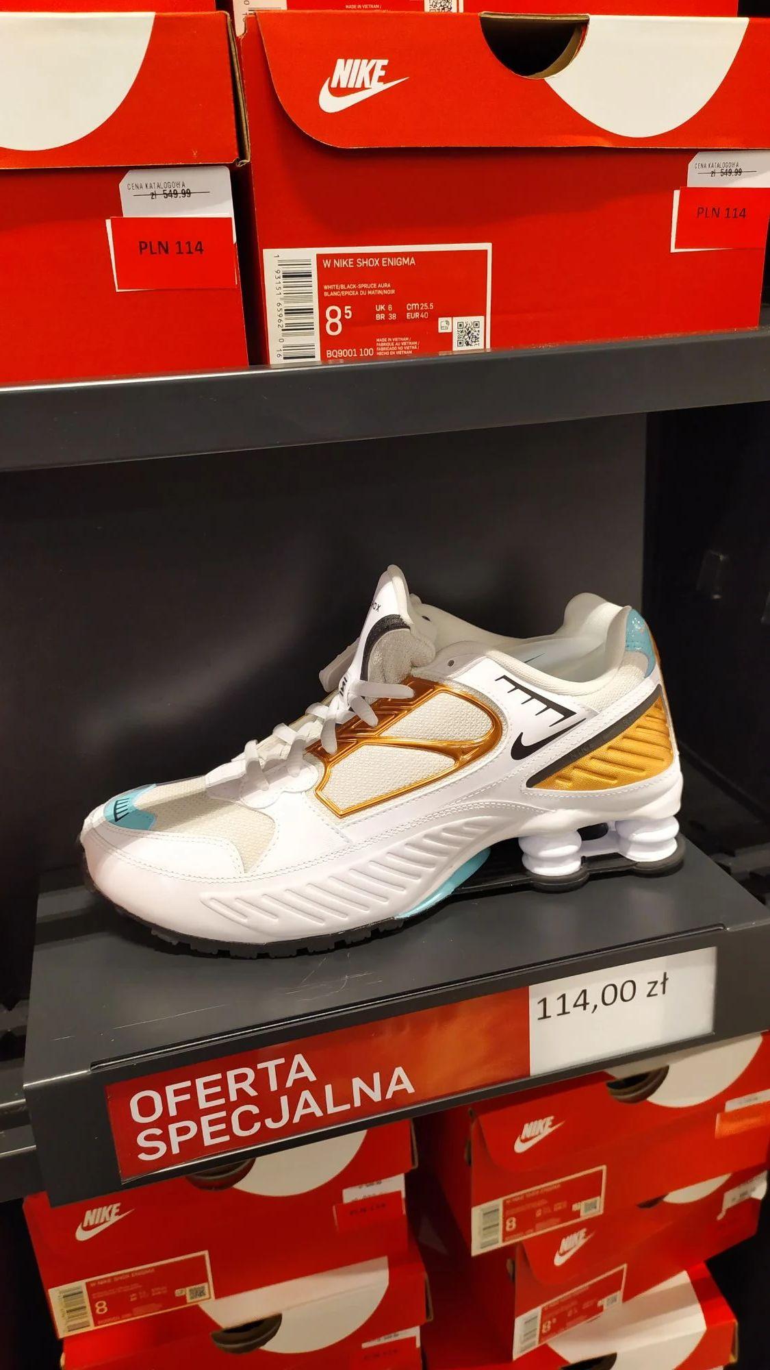 Buty damskie Nike Shox Enigma w factory outlet wroclaw