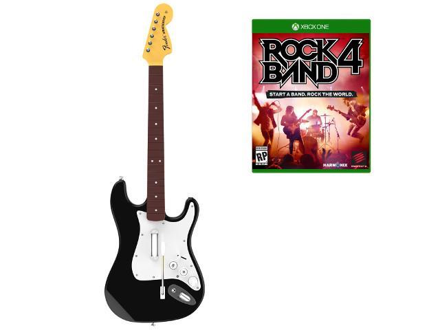Zestaw muzyczny Rock Band 4 (gra+gitara fender stratocaster) Xone