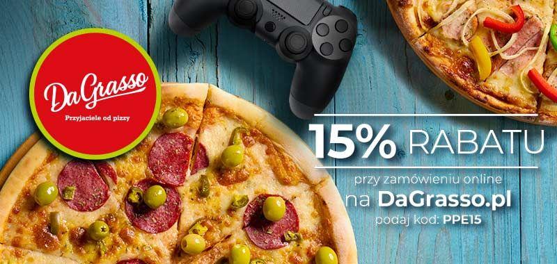 -15% na pizzę w DaGrasso