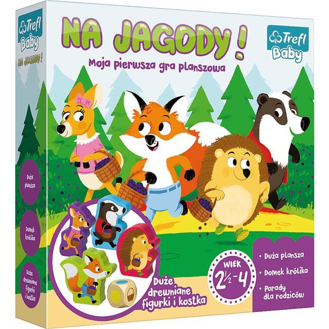 Gra planszowa - Na jagody! Moja pierwsza gra planszowa @Smyk / Gra dla dzieci, edukacyjna