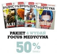Prenumerata focus medycyna -50%