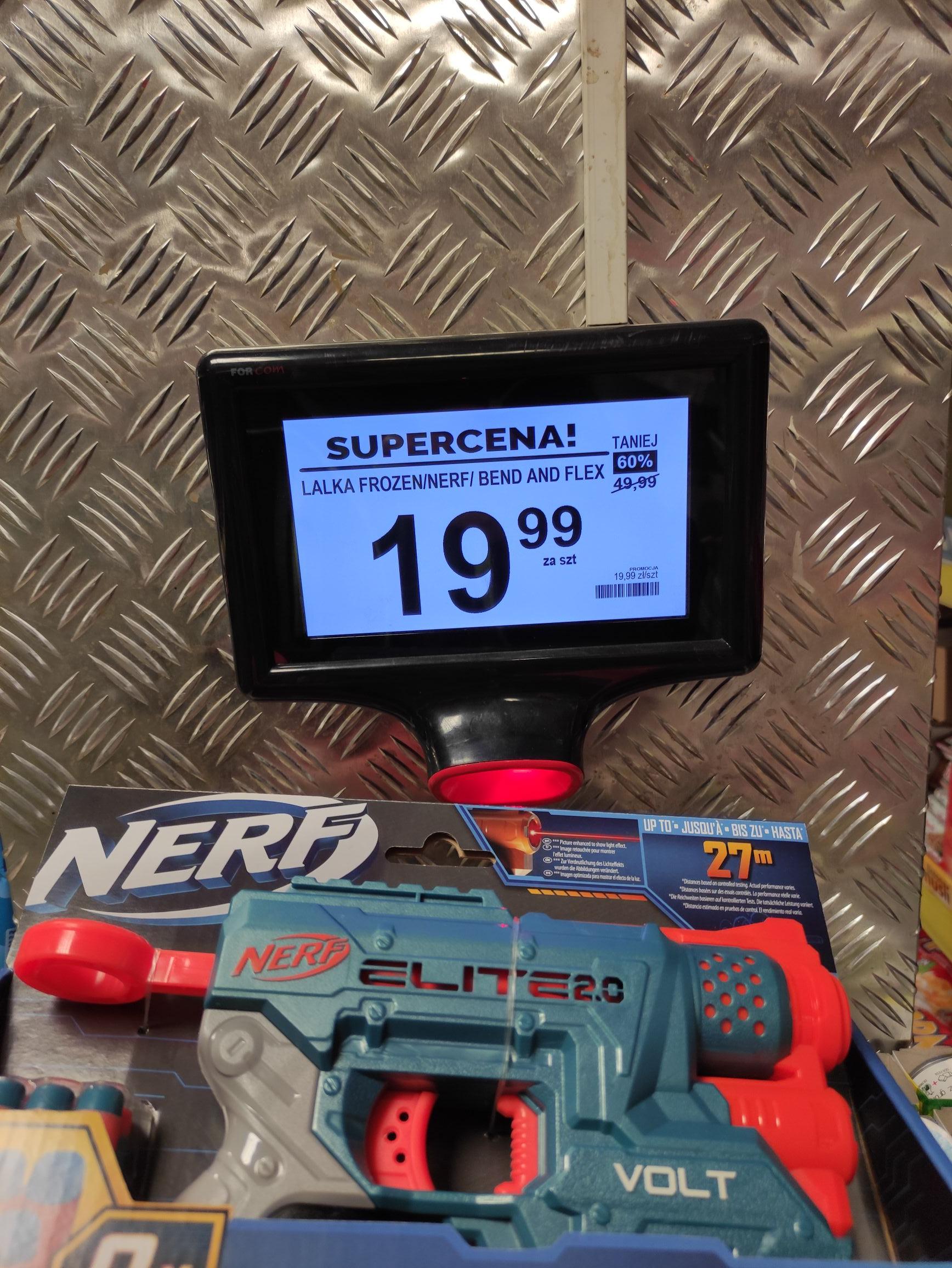 Nerf/Frozen i inne zabawki (Wyprzedaż) - Biedronka