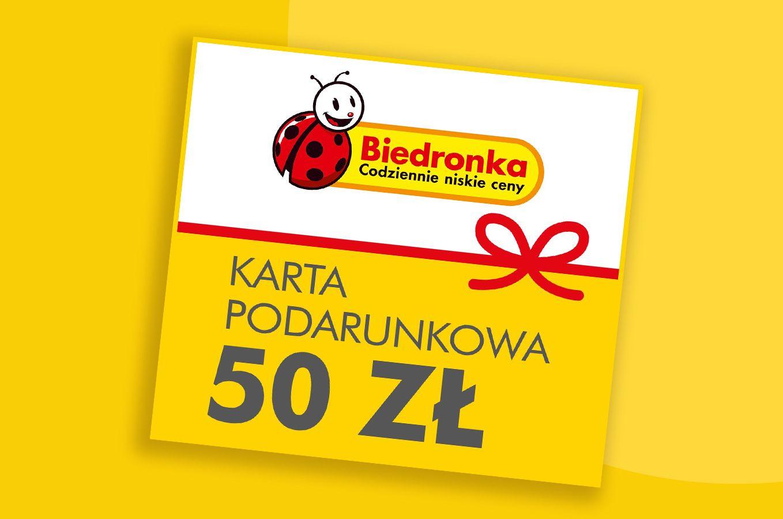 Karty podarunkowe do Biedronki w Shell ClubSmart