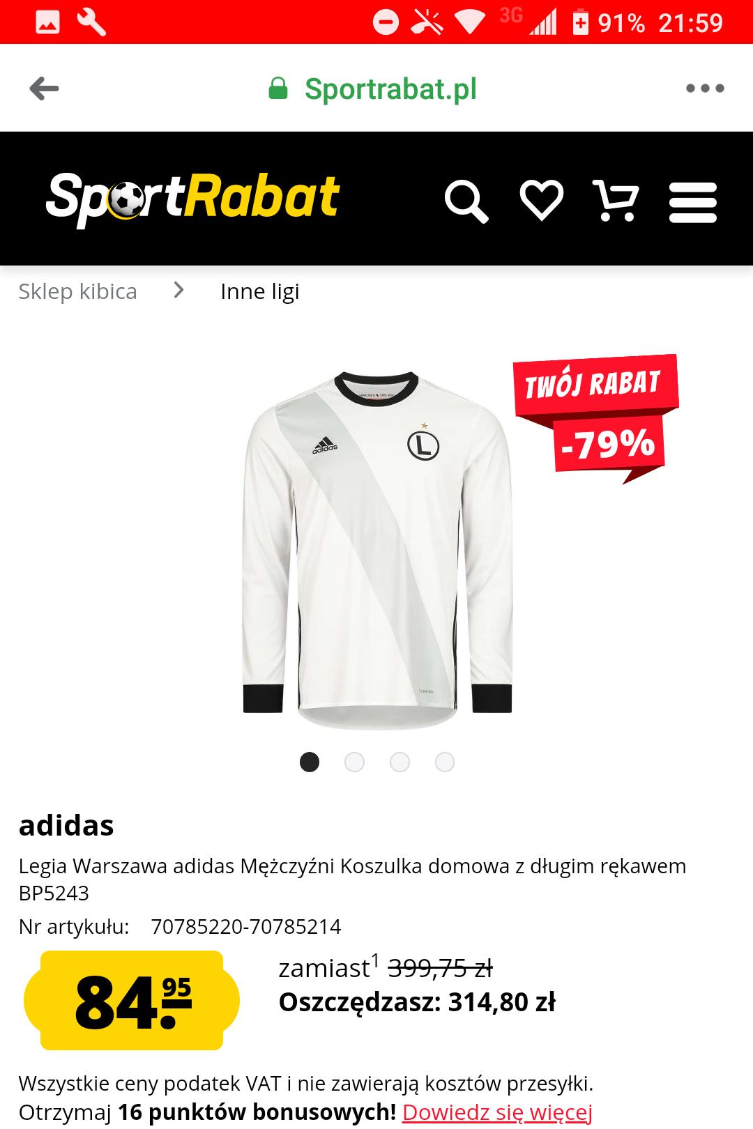 Koszulka Mistrza Polski Ekstraklasy Legia Warszawa