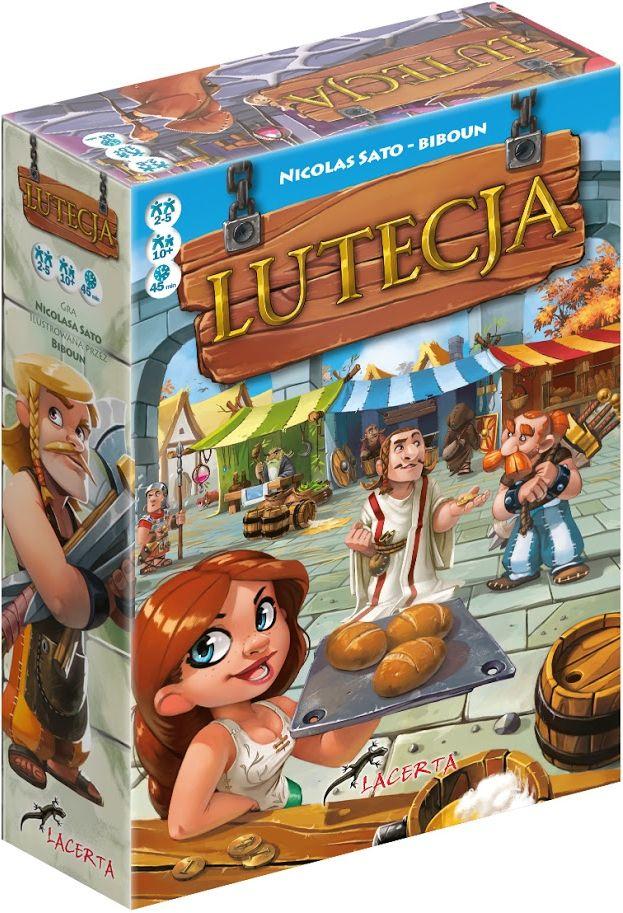 Gra planszowa - Lutecja (BGG 6.6) @Allegro / Gra ekonomiczna, strategiczna