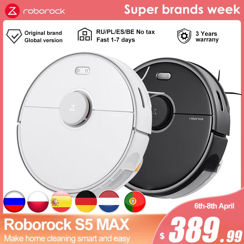 Roborock S5 max 379.99$ z Polski