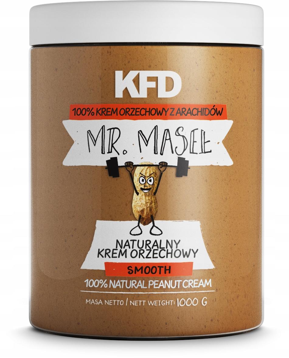 Masło orzechowe KFD 1kg w dobrej cenie